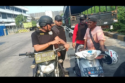 Timsus Elang Laut Polres Pelabuhan Tanjung Priok Amankan Pelaku Premanisme dan Pak Ogah