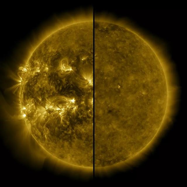 novo ciclo de atividade solar