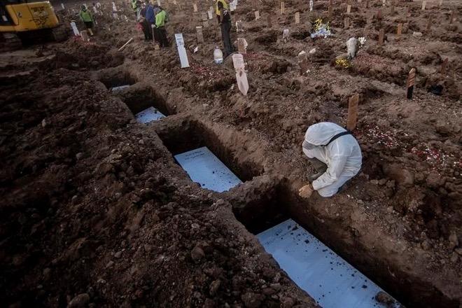 Sepekan, Ada 7 Orang Di Bone Meninggal Dalam Kondisi Terpapar COVID-19