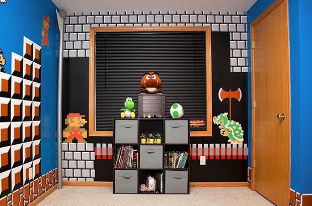 ideias de decoração geek, ideias para decorar quarto geek