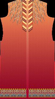 digital textile design kurti