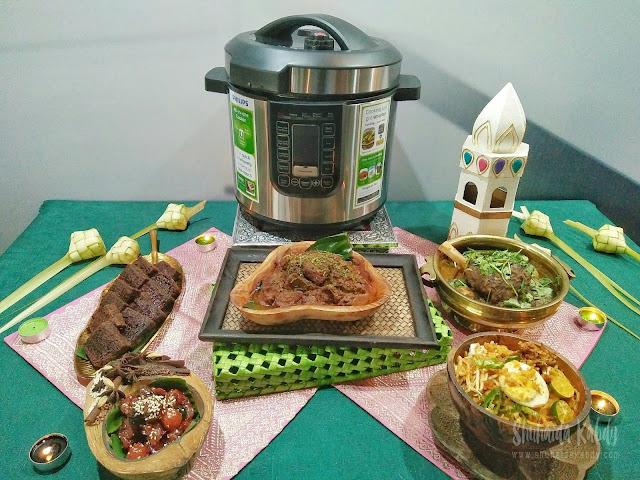 philips all in one pressure cooker memudahkan kerja di dapur