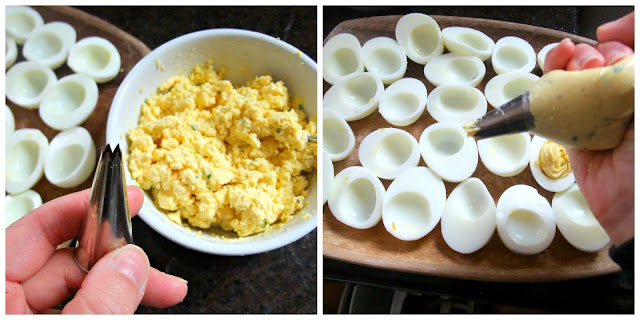 ... Savour-It!: Angel Deviled Eggs with Greek Yogurt and Smoked Paprika