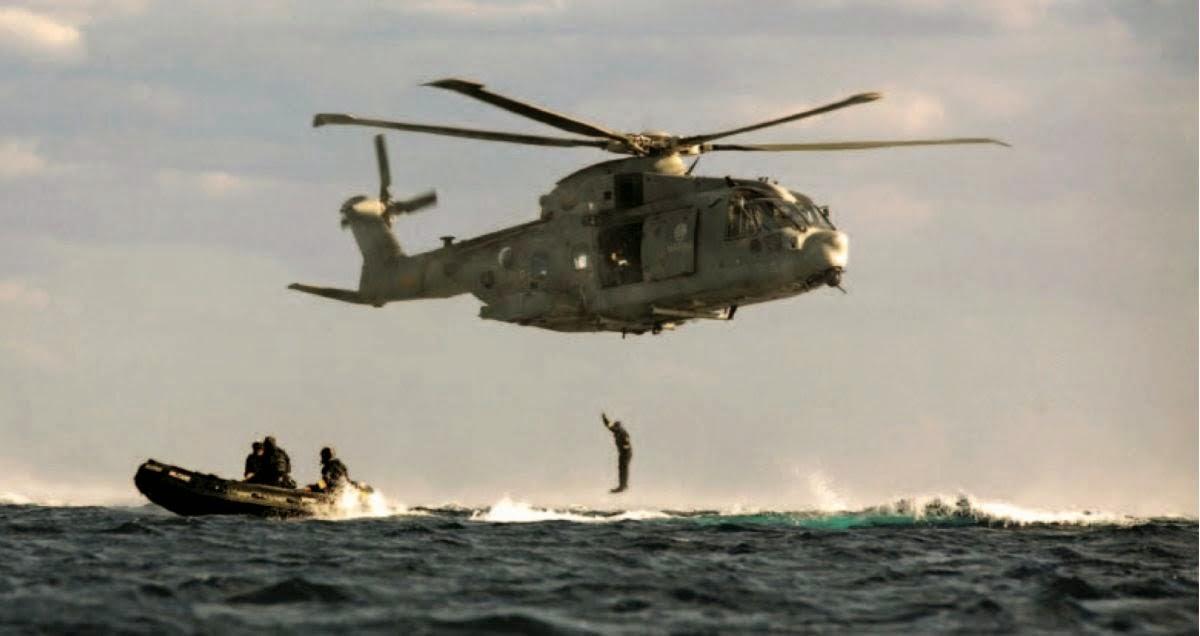 SUBEX Ejercicio de Rescate de Submarinistas