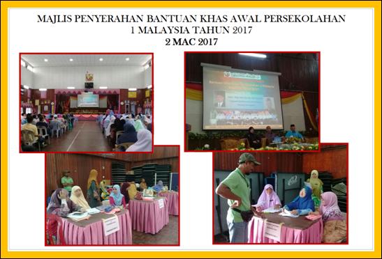 Pusat Sumber Baitul Hikmah Majlis Penyerahan Bantuan Khas Awal Persekolahan 1malaysia Tahun 2017