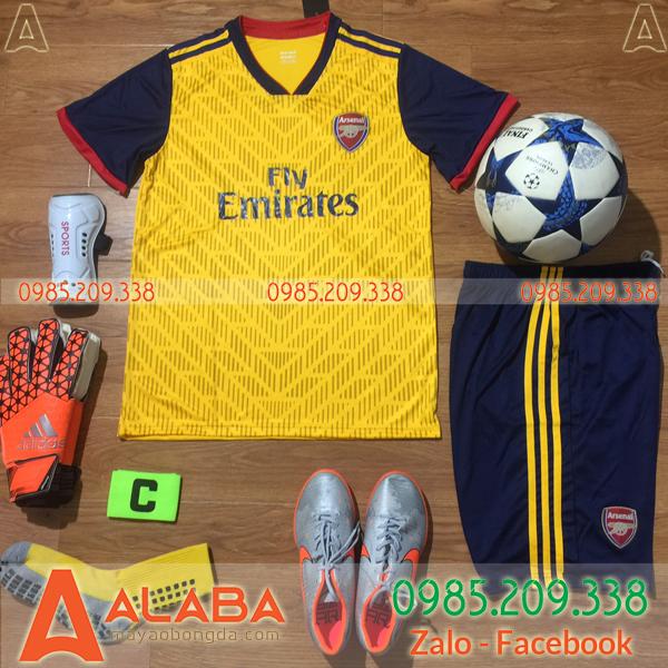 Áo bóng đá clb Arsenal 2020 màu vàng mới nhất