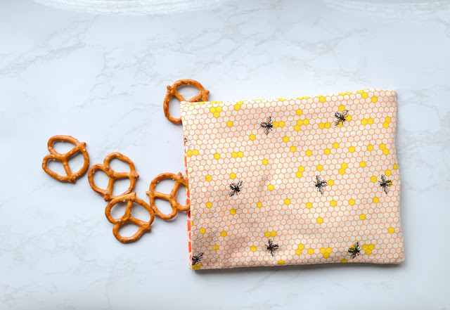 cotton snack bags tutorial