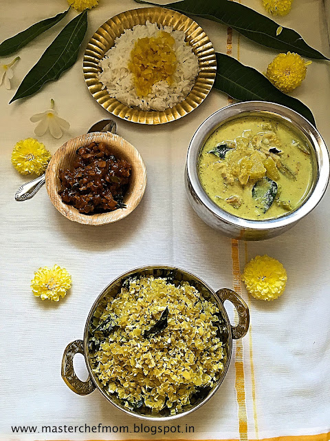 Cabbage Thoran | Kerala Style Thoran