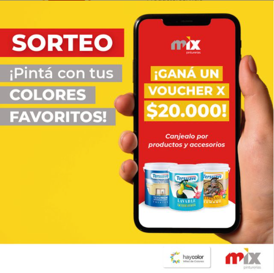 Sorteo Mix Pinturerias 2021