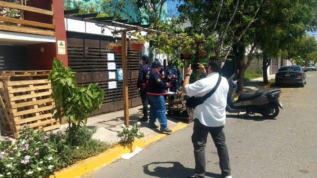 Gobierno clausura negocio de crítico de ciclovías; podrían multarlo hasta con 180 mil pesos. Foto oficial