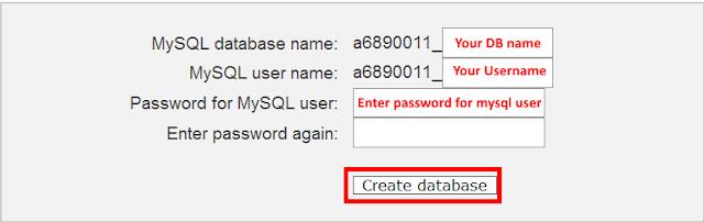 install drupal on online server