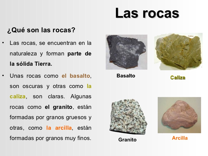 El bosque animado rocas y minerales for Materiales que componen el suelo
