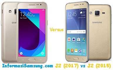 Perbandingan Samsung Galaxy J2 (2017) vs J2 (2015)