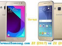 Perbandingan Samsung Galaxy J2 (2017) vs J2 (2015)