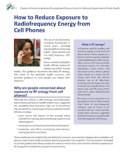 Electromagnetic Radiation Safety: 2017