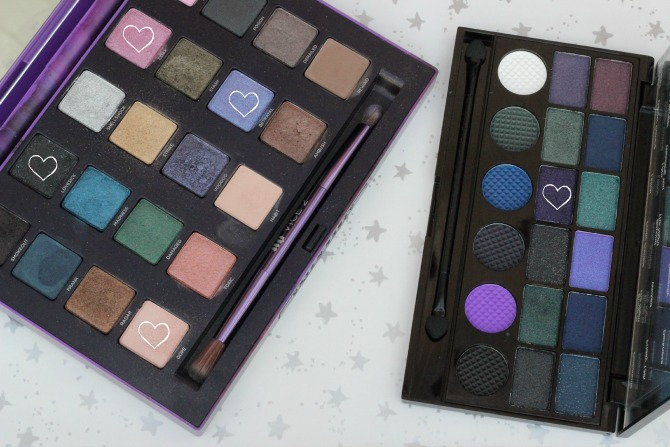 Products used - Urban Decay Vice 2 palette and Makeup Revolution Give them nightmares palette