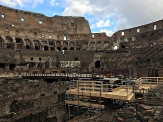 El Coliseo de Roma por dentro