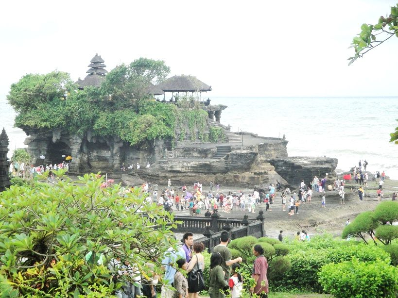 Tanah Lot Hindu Bali Sea Temple - Mengwi, Taman Ayun, Temple, Alas Kedaton, Monkey Forest, Kukuh, Tanah Lot, Beraban, Sunset, Bali