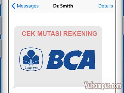 cek mutasi sms banking bca
