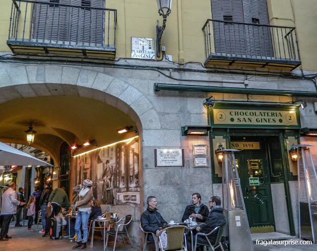Chocolateria San Ginés, Madri
