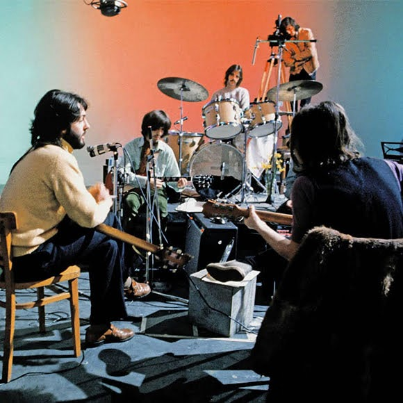 The Beatles : Twickenham Film Studios (janvier 1969) - Film «Let It Be» (1970).