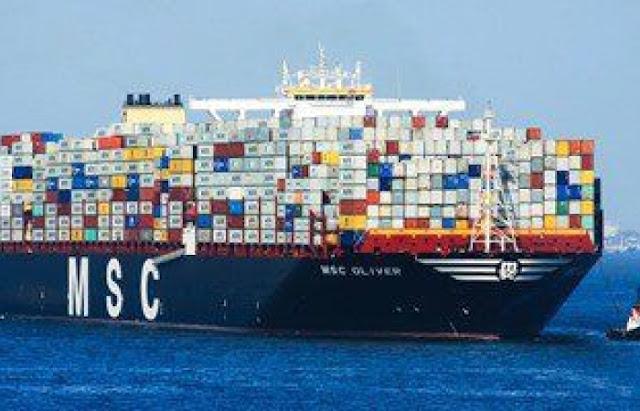 تم رصد عبور 199 مليون طن من البضائع عبر قناة السويس في بداية 2016