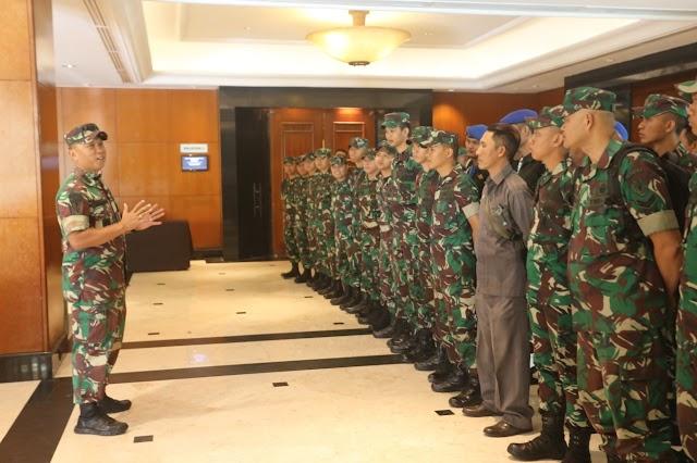 Danbrigif 15/Kujang II Cek Kesiapan ASMAM-9/2019 di Bandung