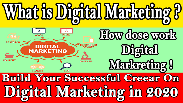 Build your successful career in digital marketing in 2020