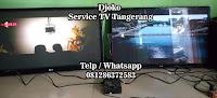 service led tv samsung gading serpong tangerang