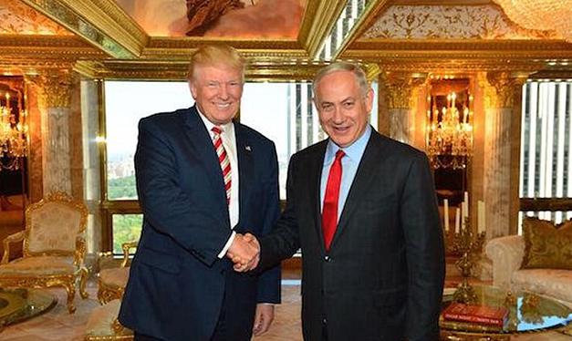 Netanyahu se encontra com Donald Trump