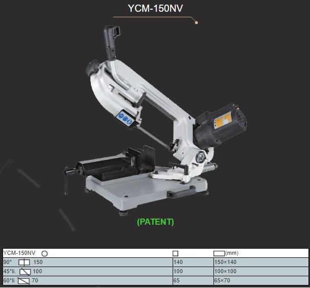 hình ảnh máy cưa vòng ycm 150nv