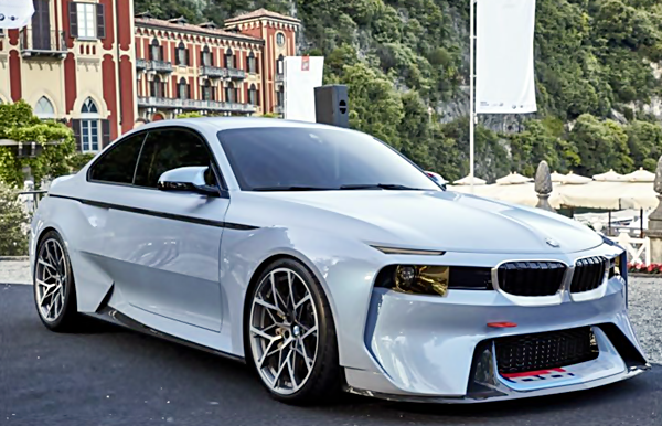 BMW 2002 Hommage With M2 Technology