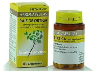 comprimido de 320 mg de próstata