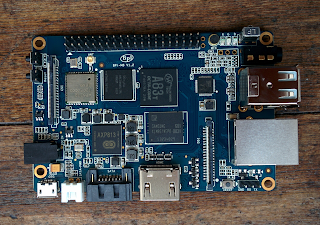 Banana Pi M3 v1.2 board.