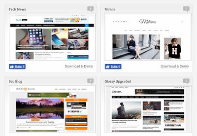 7 Web Penyedia Template Blogger GRATIS !