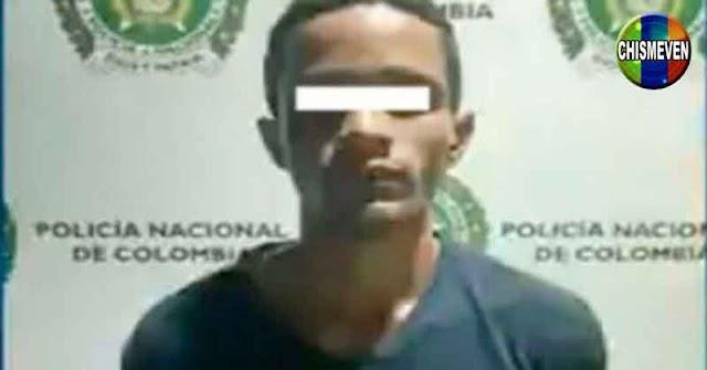 Venezolano detenido en Colombia por asesinar a un líder político de ese país