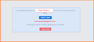 How to Register in Pearlvine Company - Verify Number