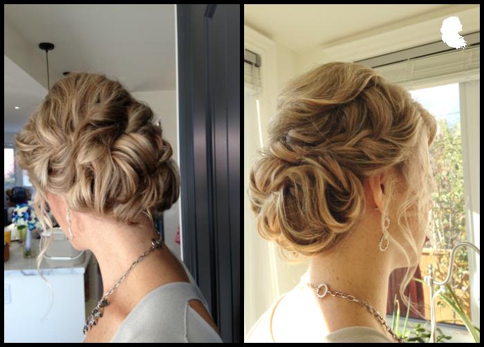 braids and soft updos hair: Taming Rapunzel