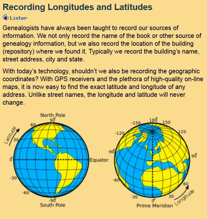 http://blog.eogn.com/eastmans_online_genealogy/2014/02/recording-longitudes-and-latitudes.html#