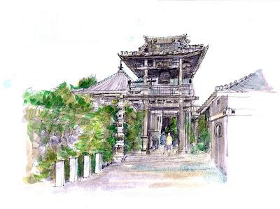 長専寺  蔵富𠮷右土門 菩提寺