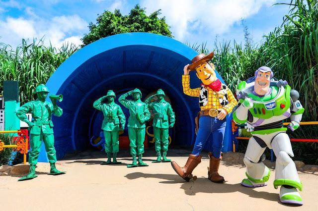 放玩奇妙當夏香港迪士尼樂園度假區香港居民樂園門票優惠反斗奇兵 Hong Kong Disneyland Resort Summer Chill-pixar toy story Re-imagined Meet and Greets