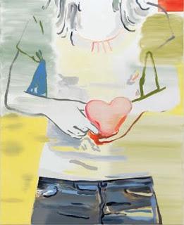 Françoise Petrovitch, Sans titre, 2018, peinture © Galerie Semiose, Paris