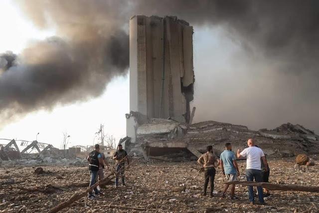 صور مرعبةجار الغامض في #بيروت  لمخلفات #الانف