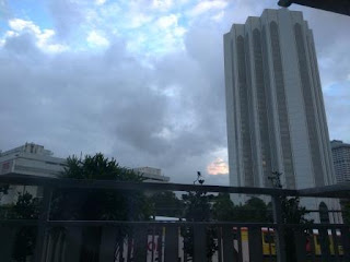 pemandangan dari kamar hotel Geo Kuala Lumpur