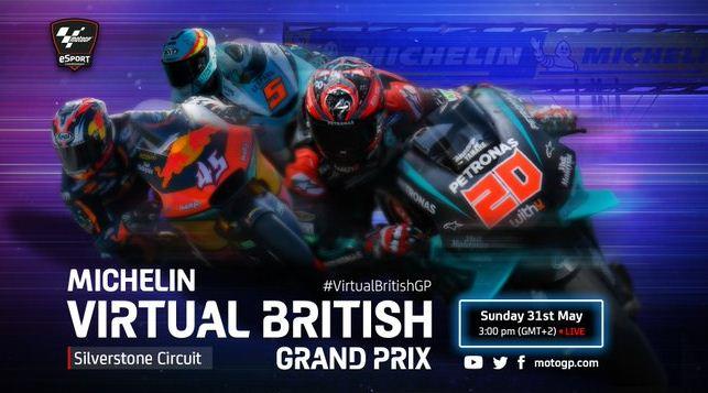 Jadwal MotoGP 2020 Virtual Race 5 Silverstone Inggris