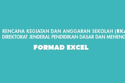 Download RKAS 2019 Formad Excel Sesuai Komponen 8 Standar Nasional Pendidikan