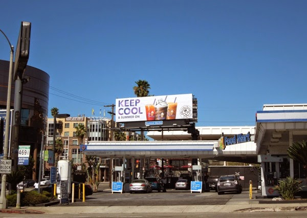 Keep cool Coffee Bean billboard