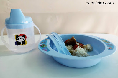set alat makan plastik