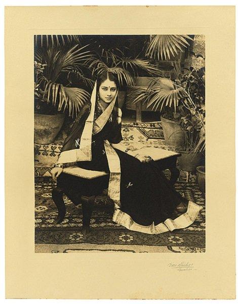 Her Highness Vijaya Raje Scindia , Maharani  of Gwalior, 1942