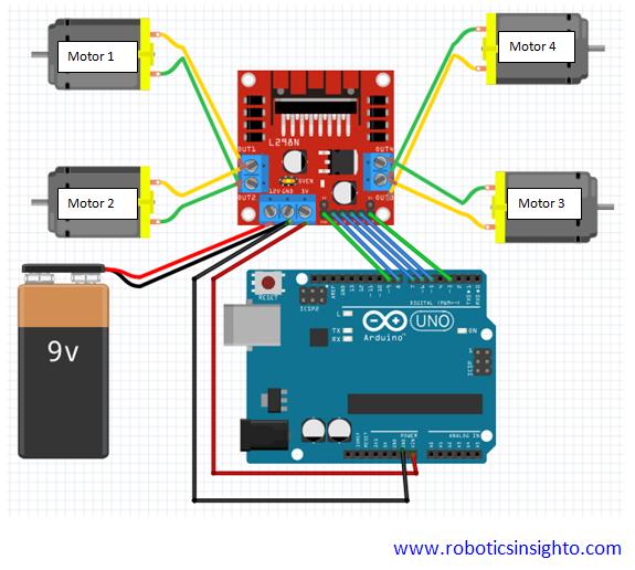 Control Motor Driver Speed Using Arduino